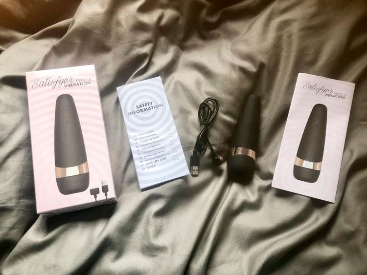 Комплект поставки Satisfyer Pro 3 Vibration