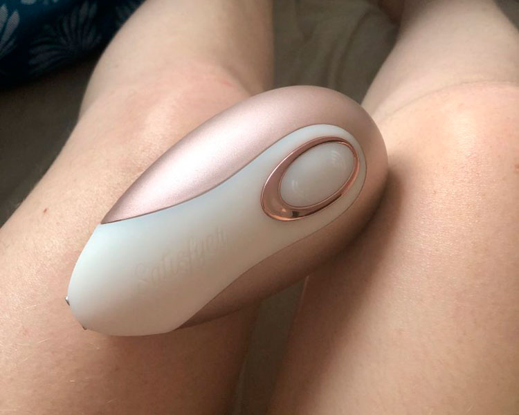 Общий вид Satisfyer Pro Deluxe Next Generation